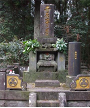 昭和35年建立の墓石